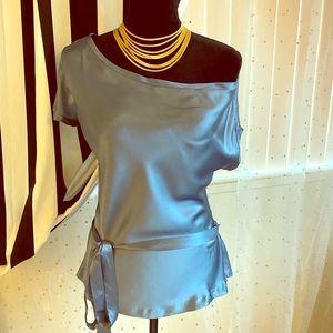 Development silk blouse